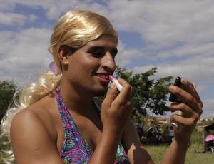 Luis Henrique afirma que cuidar do visual faz parte da festa. (Foto: Valdivan Veloso/Globoesporte.com)