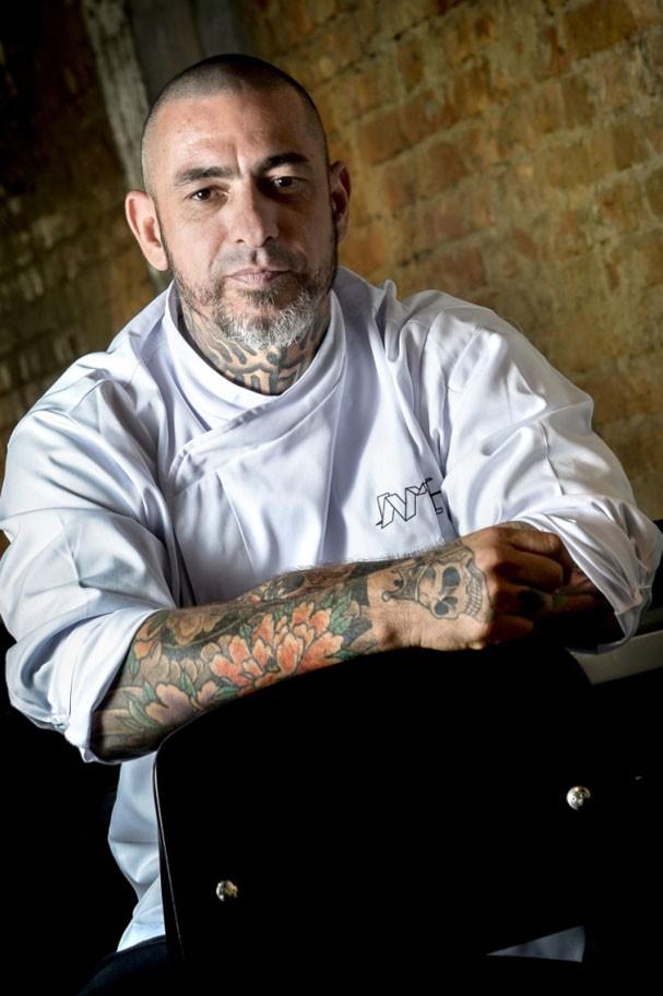 Ceviche do chef Henrique Fogaça