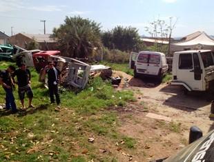 Foi descoberto desmanche de caminhões que ficava dentro de um galpão em Cachoeirinha (Foto: Divulgação/Polícia Civil)