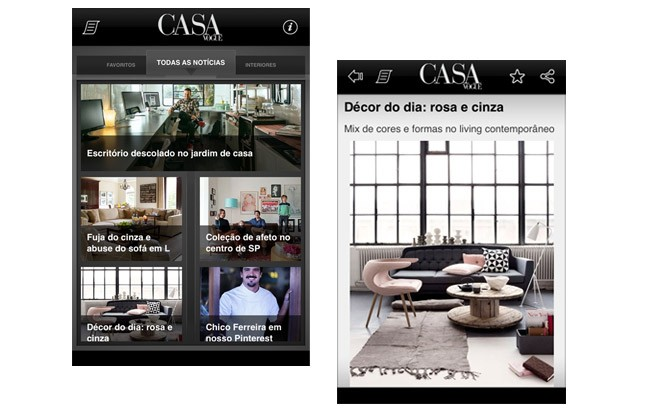 Baixe e leia a sua Casa Vogue no tablet ou celular (Foto: Casa Vogue)