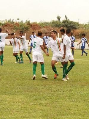 SAmpaio venceu seu jogo no Estaadual sub-17 (Foto: Divulgação/Site do Sampaio)