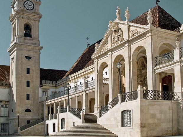 Universidade de Coimbra é a primeira instituição estrangeira a aceitar o Enem (Foto: João Armando Ribeiro/ Universidade de Coimbra)