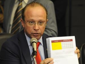Adão Villaverde presidiu comissão deu origem a nova lei de incêndios (Foto: Marcelo Bertani/Agência ALRS)