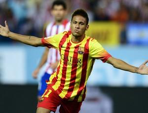 Neymar gol Barcelona (Foto: AFP)