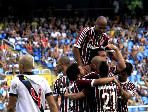 fred fluminense gol vasco (Foto: Nelson Perez / Fluminense FC)