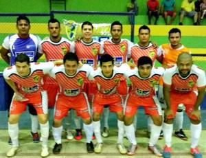 Auto Elétrica Evolution conquista a taça do 1º Circuito Ouro Preto de Futsal (Foto: Divulgação)