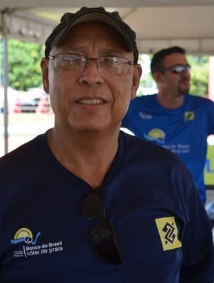 João Petrolitano, presidente da Federação Acreana de Vôlei (Foto: João Paulo Maia)