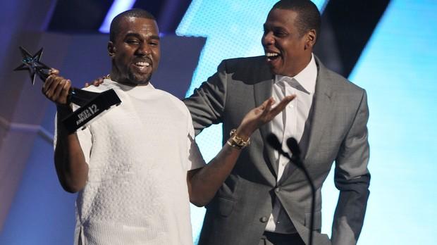 Kanye West e Jay-Z esto sendo processados por um f (Foto: Matt Sayles/AP)