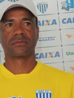 Técnico Sérgio Soares, do Avaí (Foto: Paulo Evangelista)