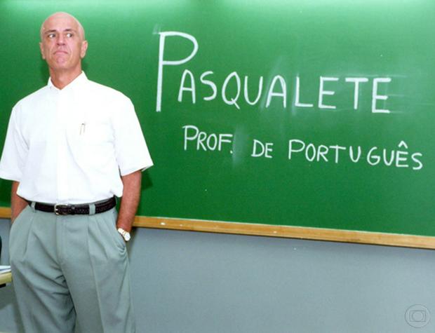 Pasqualete - professora de Portugês em Malhação (Foto: Acervo/Globo)