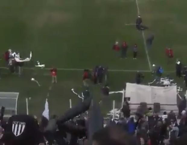 Drone é derrubado por papel higiênico na Argentina (Foto: reprodução )