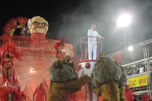 'É muita alegria', diz Verissimo sobre título dos Imperadores  (Rafaella Fraga/G1)