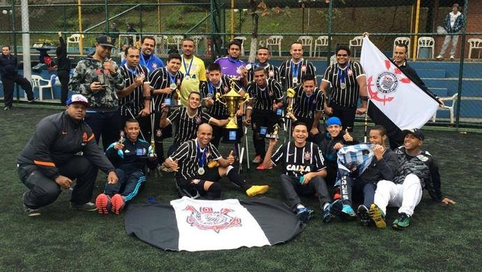 Corinthians Mogi campeão paulista futebol de amputados (Foto: Divulgação/Rogerio Almeida)