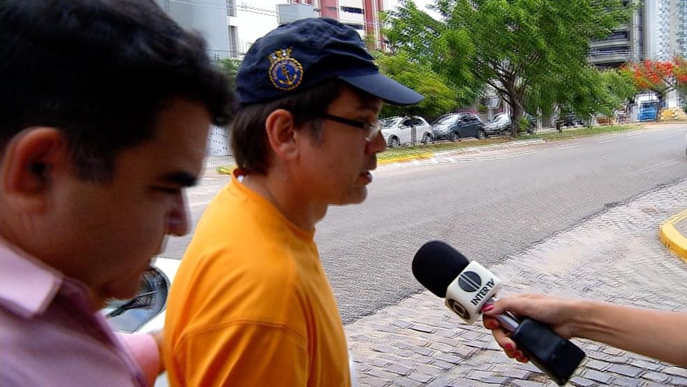 Servidor Guilherme Wanderley foi preso no dia 25 de março, após se apresentar à polícia. Atualmente, está em clínica psiquiátrica. (Foto: Carlos Lima/Inter TV Cabugi)