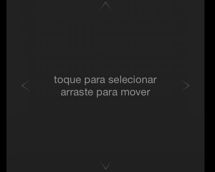 Movimentando e selecionando no aplicativo Remote (Foto: Reprodução/Edivaldo Brito)
