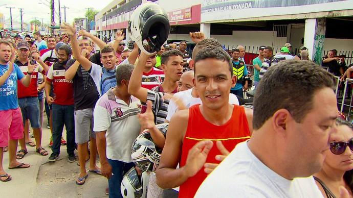 Torcida Santa Cruz (Foto: Reprodução)