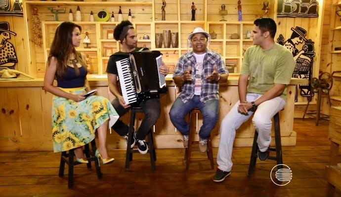 Programão traz bate-papo com a dupla Cezinha e Gonzaga Lú (Foto: Reprodução/Rede Clube)