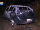 Suspeito preso por morte de médica diz que incendiou carro por dívida