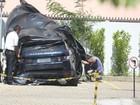 Veja como ficou o carro de Isis Valverde depois de acidente