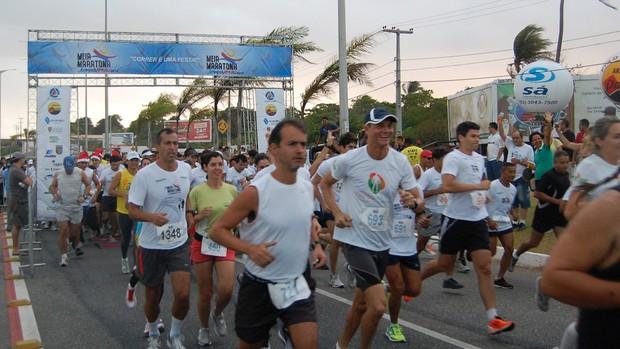 Meia Maratona Jampa Verão (Foto: Lucas Barros / Globoesporte.com/pb)