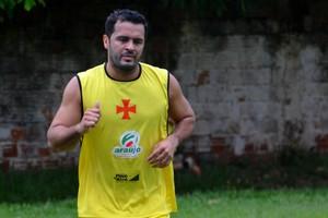 Marcelo Cabeção, atacante do Vasco-AC (Foto: Nathacha Albuquerque/G1)