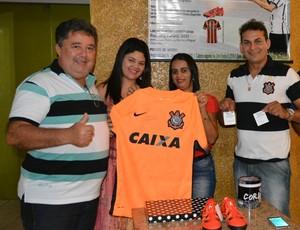 Família Gabriel Vasconcelos realizou ação social (Foto: Ivanete Damasceno)