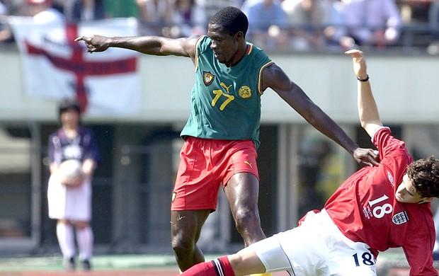 Marc-Vivien Foe jogador de Camarões (Foto: Getty Images)