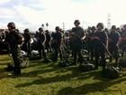 Exército apresenta militares que atuarão durante a Copa no RS
