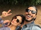 Isis Valverde ganha declaração de amor do namorado: 'Eu amo você'