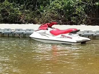 Empresário está desaparecido após cair de moto aquática em Sorriso (Foto: MT Notícias)