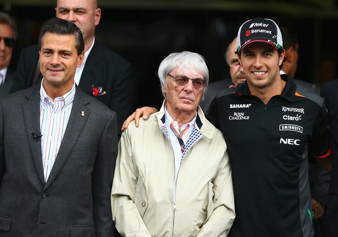 Único mexicano no grid, Sergio Pérez é praticamente um embaixador do GP do México (Foto: Getty Images)