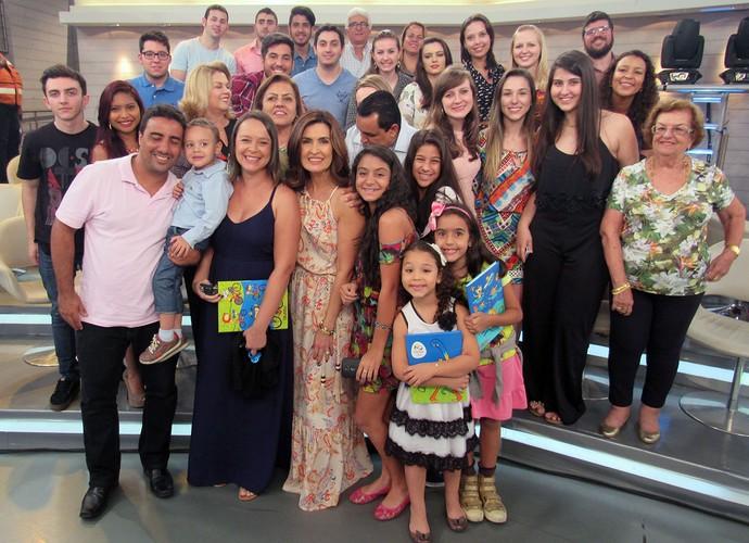 Plateia do Encontro com Fátima Bernardes (Foto: Melina Mantovani/ Gshow)