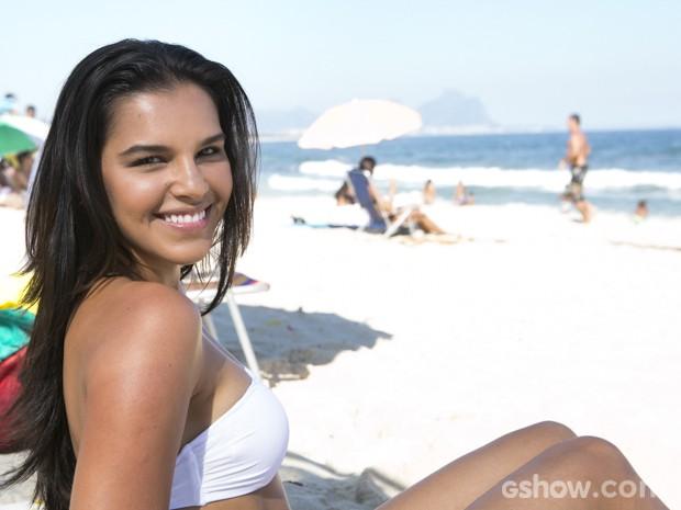 Mariana Rios promete alegrar a Marquês de Sapucaí  (Foto: Felipe Monteiro/ TV Globo)