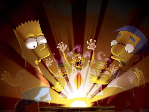 Bart e Milhouse precisam salvar Springfield de um jogo maligno (Foto: Divulgação / Twentieth Century Fox)