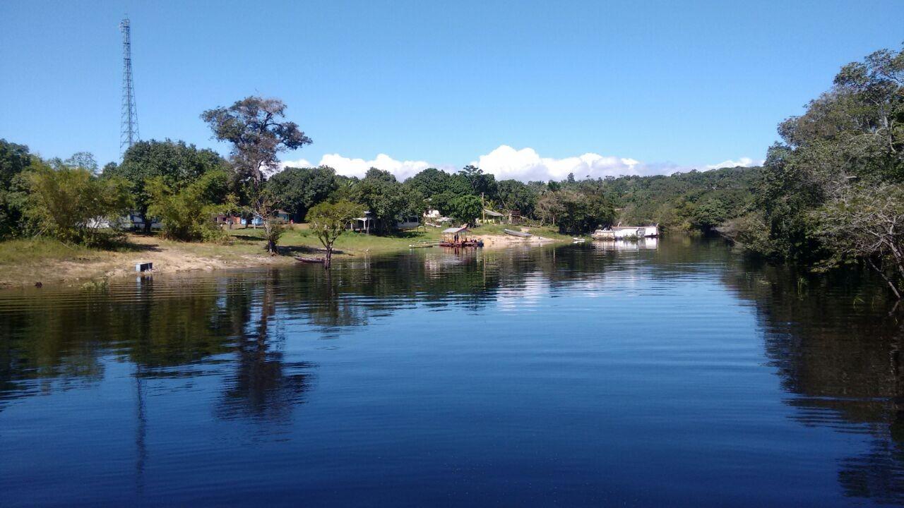 Comunidade Livramento, na bacia do rio Negro, no Amazonas. (Foto: Amazônia Rural)