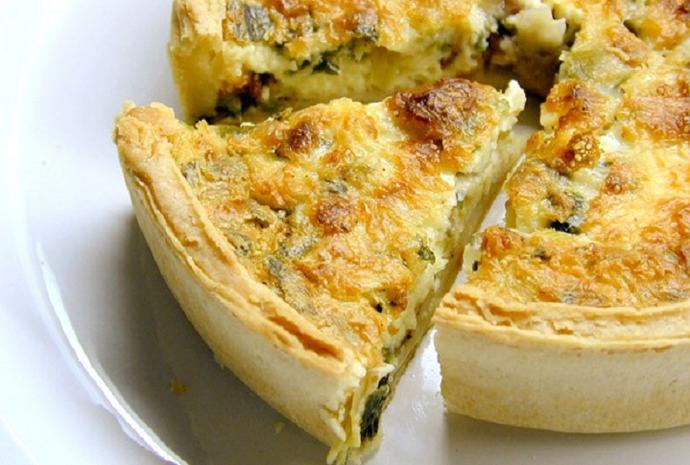 Torta de Cebola e Alho Poró (Foto: Gshow)