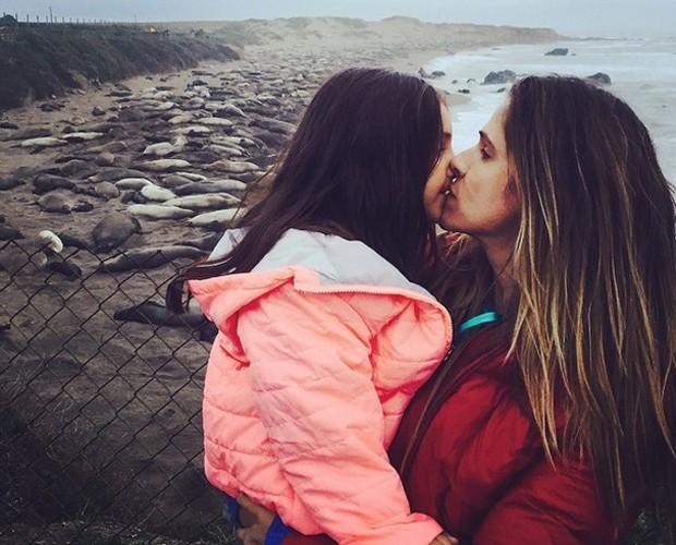 Ingrid Guimarães fala sobre seu amor pela filha (Foto: (Arquivo Pessoal))