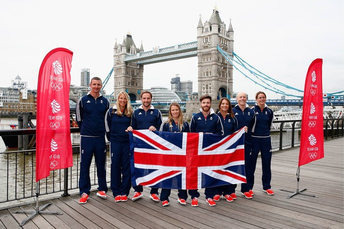 Velejadores britânicos anunciados para o Rio 2016 (Foto: Divulgação Team GB)