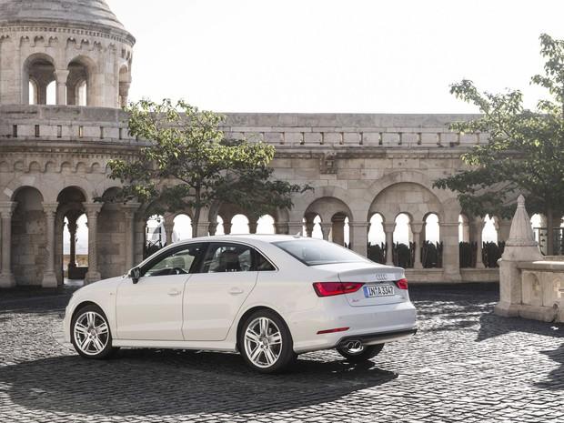 Audi A3 Sedan é fabricado na Hungria (Foto: Divulgação)
