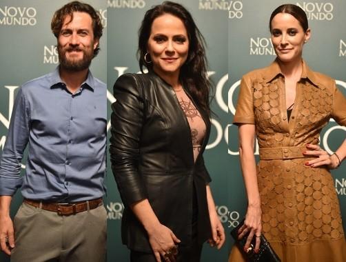 Gabriel Braga Nunes, Vivianne Pasmanter e a portuguesa Maria João Bastos também integram o elenco da nova novela das 6 (Foto: TV Globo/ Maurício Fidalgo)