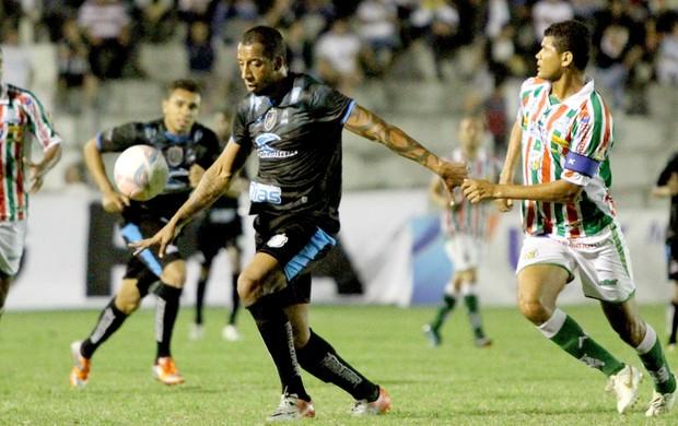 Treze 1 x 0 Baraúnas, no Estádio Presidente Vargas, pela Série C do Campeonato Brasileiro, Tiago Chulapa (Foto: Magnus Menezes / Jornal da Paraíba)