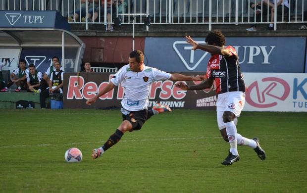 Camilo Sport x Joinville (Foto: Leandro Ferreira / Ag. Estado)