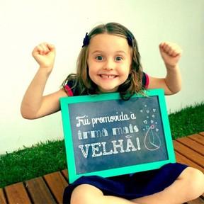 Luisa, filha de Fernanda Rodrigues e Raoni Carneiro (Foto: Reprodução/ Blog Cheguei ao Mundo)