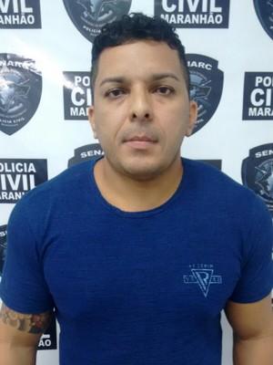 James Onda foi preso por vender e aplicar anabolizantes em São Luís (Foto: Divulgação / Senarc)