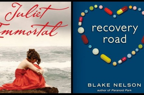 Capas dos livros 'Recovery Road' e 'Juliet immortal', que serão adaptados para a TV (Foto: Reprodução da internet)