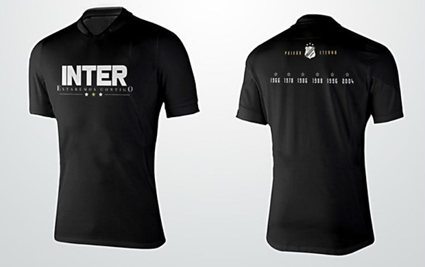 Inter de Limeira lança camisa inspirada na torcida (Foto: Divulgação/InterDeLimeira)