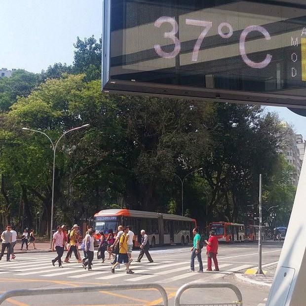 Já no início de setembro, ainda no inverno, São Paulo registrou recordes de temperatura  (Foto: Fernanda Carvalho / Fotos Públicas)