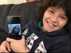 Com post na internet, mãe procura e acha amiga que filho fez há sete anos