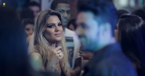 Anny Alves, loira que viajou com Neymar (Foto: Divulgação)