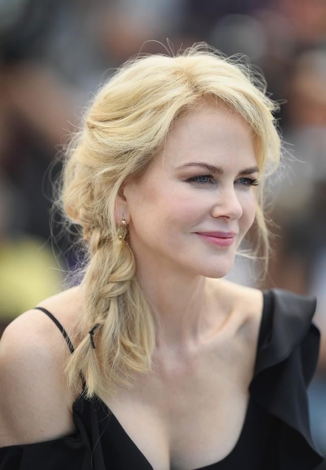 A trança de Nicole Kidman (Foto: Getty Images)